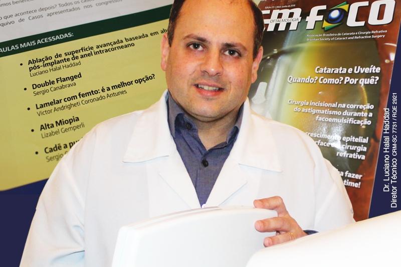 Dr. Luciano Halal Haddad é destaque na contribuição de experiência para médicos da ABCCR